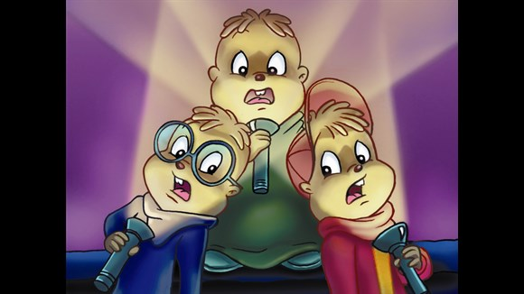 are the chipettes in alvin and chipmunks meet frankenstein