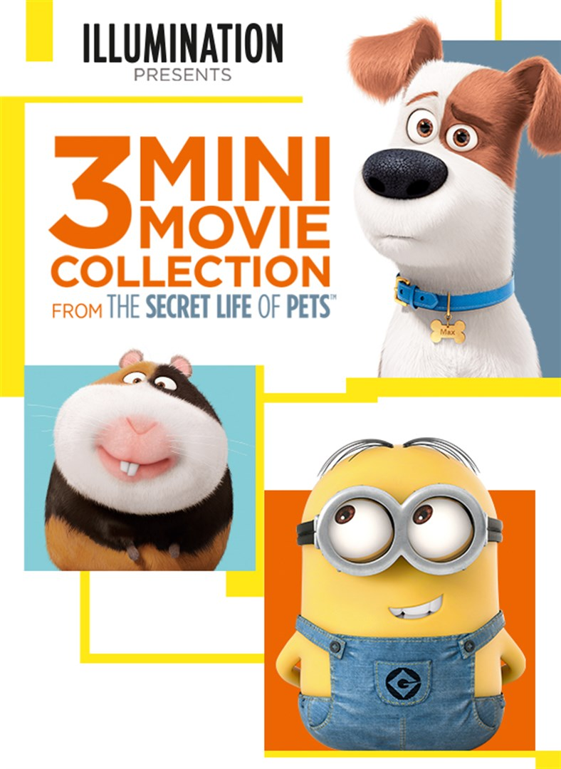Buy The Secret Life Of Pets 3 Mini Movie Collection Microsoft Store En Gb