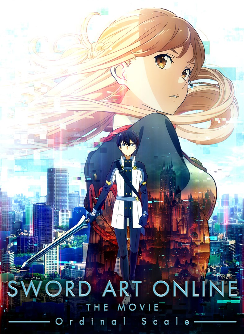 Sword Art Online – Ordinal Scale (Castellano/Japones/Ingles)(1080p)(BD, FHD)(Codec x265)