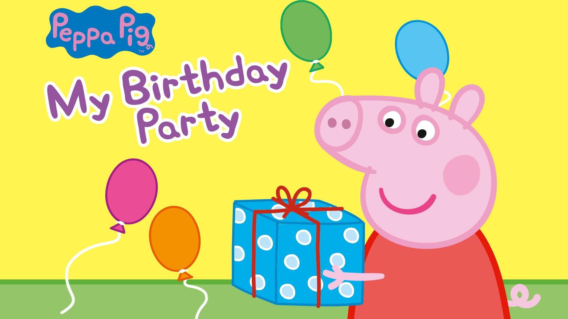 Buy Peppa Pig My Birthday Party Microsoft Store En Au